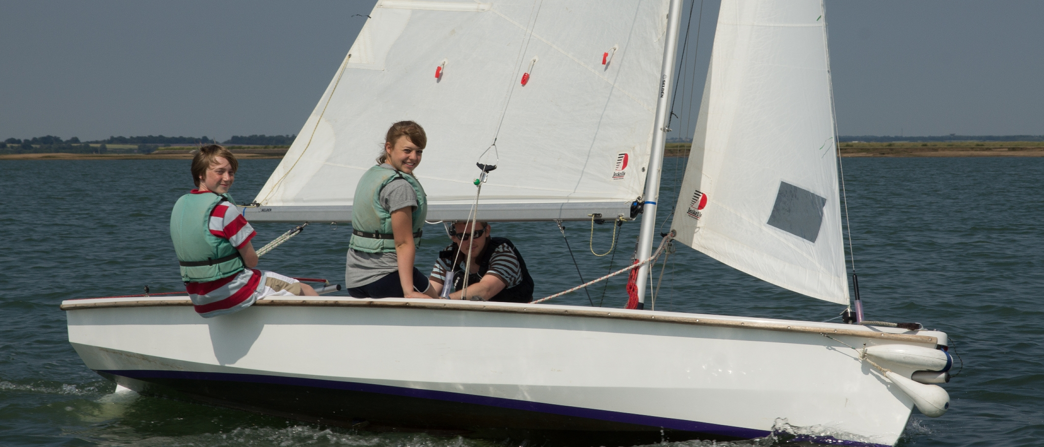 Sailing at Fellowship Afloat