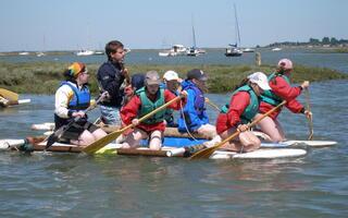 Rafting at Fellowship Afloat