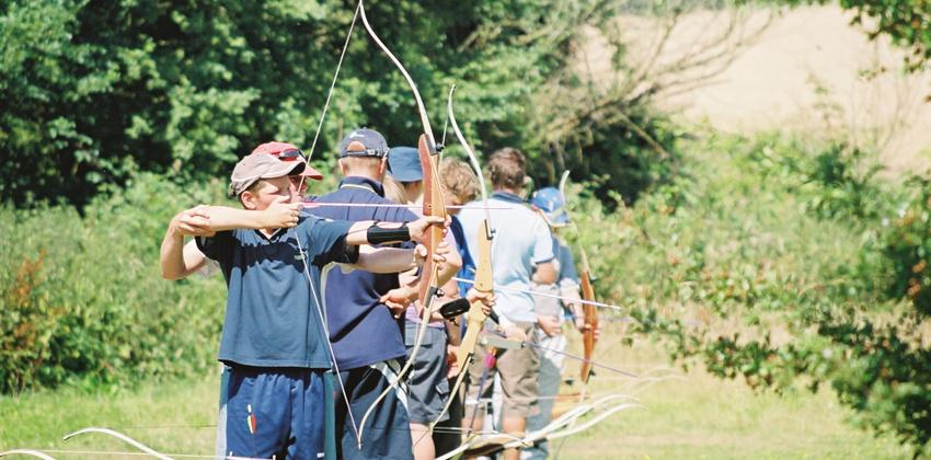 Archery at Fellowship Afloat