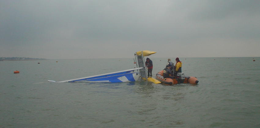 Safety Boat at Fellowship Afloat