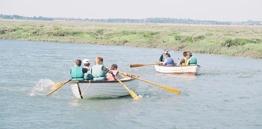 Rowing at Fellowship Afloat