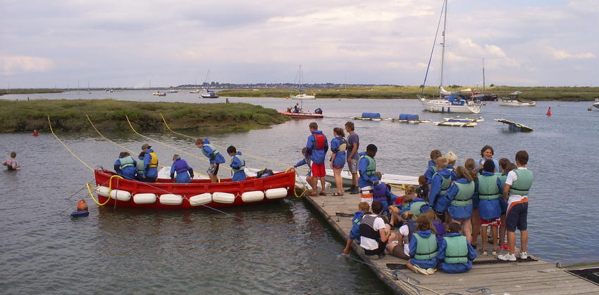 Multi Activity Weeks at Fellowship Afloat