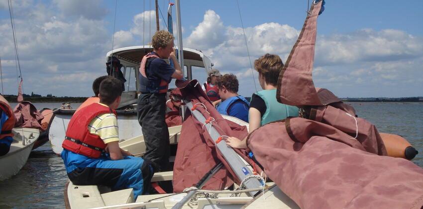 Sailing at Fellowship Afloat
